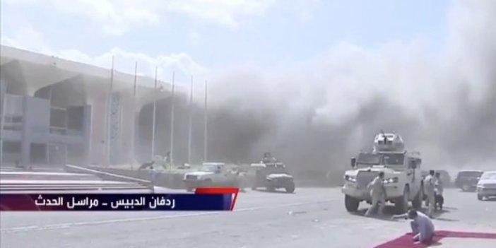 Yemen'in Aden Havalimanı'ndaki patlamalarda ölü sayısı 25'e çıktı