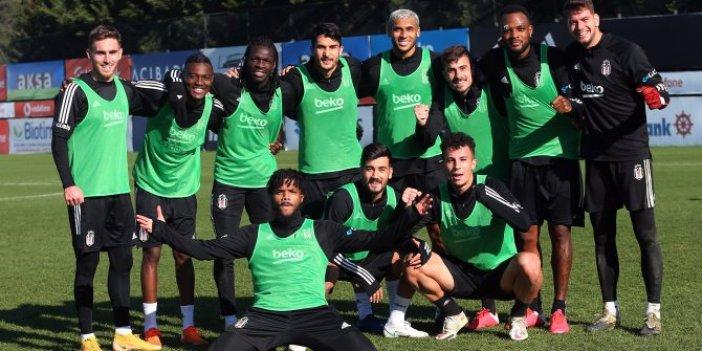 Beşiktaş kondisyon ve taktik çalışması gerçekleştirdi