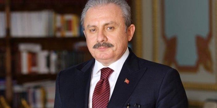 Türkiye Büyük Millet Meclisi Başkanı Mustafa Şentop'tan yeni yıl mesajı
