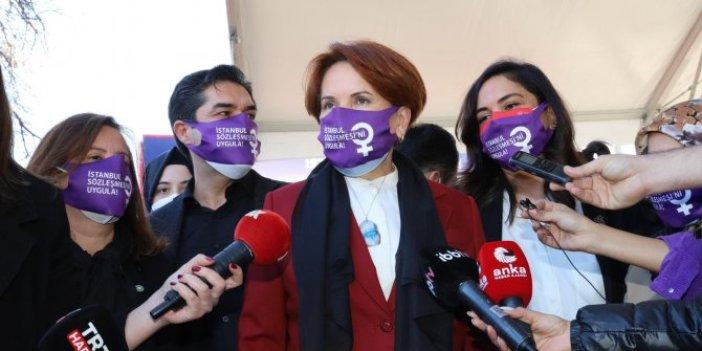 İYİ Parti lideri Meral Akşener. Hayalimdeki Türkiye'de o el kırılacak!