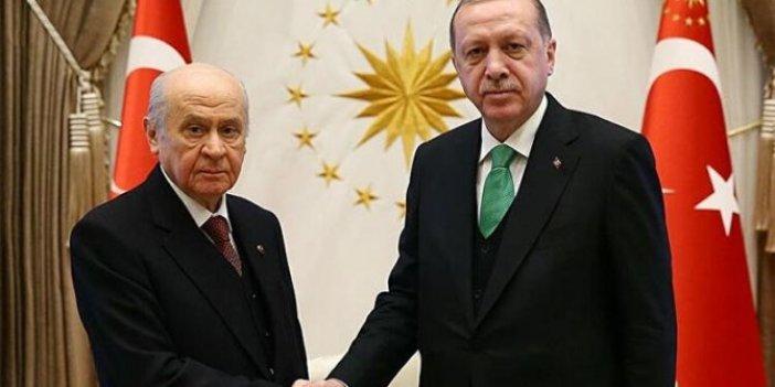 Erdoğan Bahçeli ile telefonda görüştü