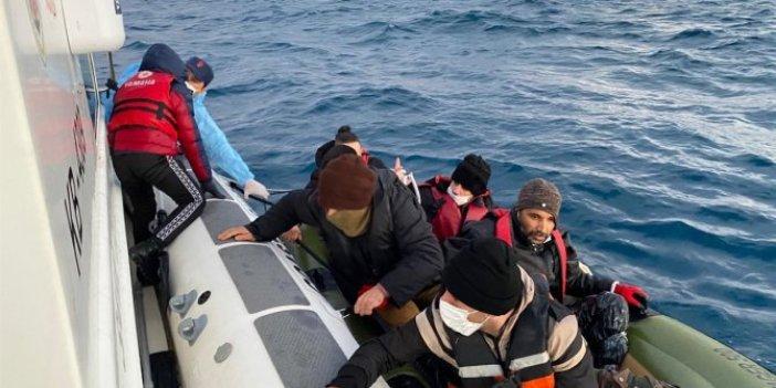 Sahil Güvenlik Çeşme açıklarında harekete geçti