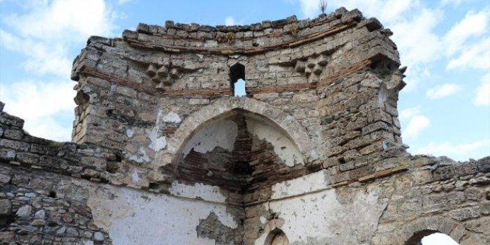 Kanuni'nin namaz kıldığı camide çalışmalar sürüyor