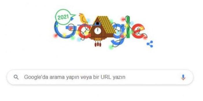 Google, 2021'i doodle ile kutladı