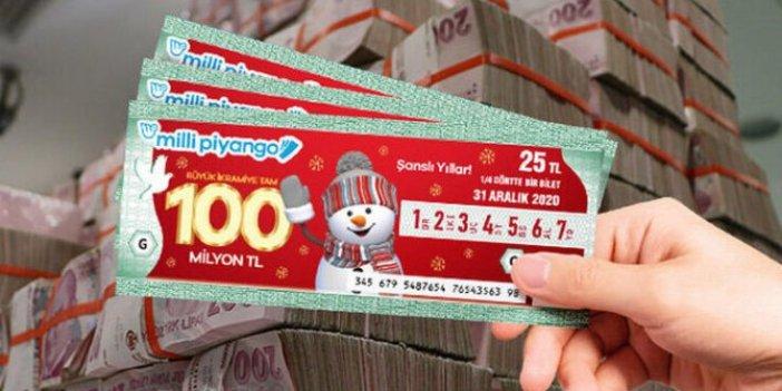 100 milyonluk büyük ikramiye çeyrek bilete çıktı. Diğer 3 çeyrek biletin parasını bakın kim aldı