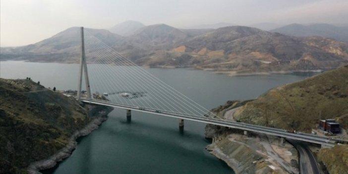 Kömürhan Köprüsü ve Bağlantı Tüneli yarın hizmete giriyor