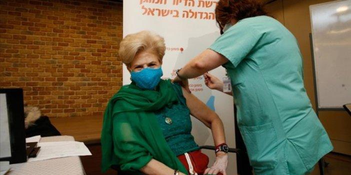 İsrail'de nüfusun yüzde 10'dan fazlasına korona aşısı yapıldı