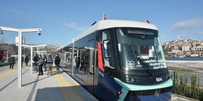 Eminönü Alibeyköy tramvay hattı açıldı mı? Haliç tramvayı kaç gün ücretsiz?