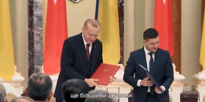 Ukrayna Devlet Başkanı Zelenskiy'den yeni yıl mesajı. Dikkat çeken Türkiye detayı