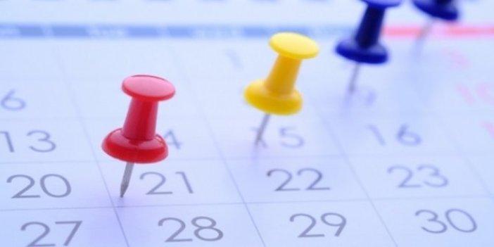 2021'deki resmi tatiller hangi güne denk geliyor?
