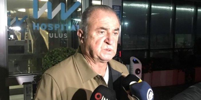 Omar Elabdellaoui'ye ziyaret Fatih Terim'den önemli açıklama