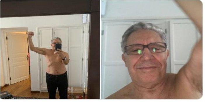 Zülfü Livaneli'nin çıplak fotoğrafları olay yarattı