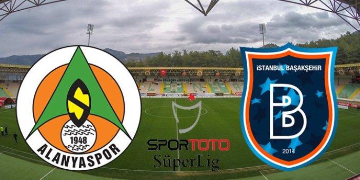 Alanyaspor Başakşehir'i 3-0 yenerek kendine geldi