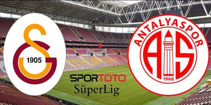 Cimbom'a Antalyaspor engeli. Bir şok da Falcao'dan geldi
