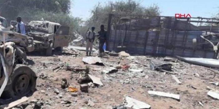 Bomba yüklü araçla saldırı. 1'i Türk 4 ölü