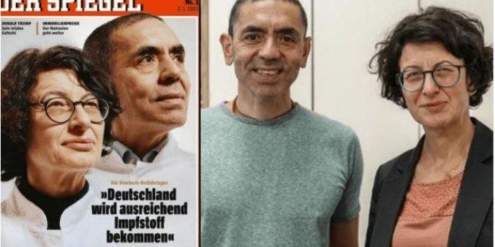 Korona virüs aşısını bulan Türk bilim insanları Der Spiegel'in kapağında