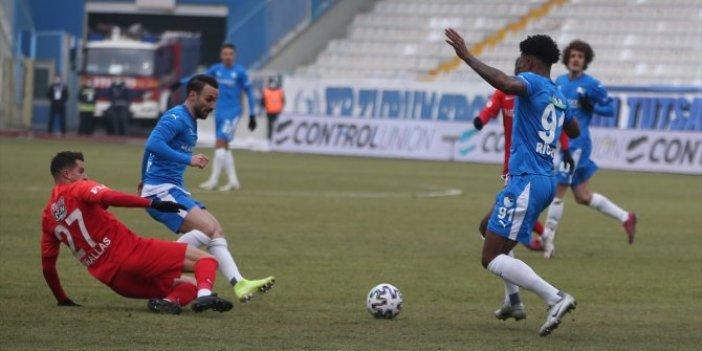 Gaziantep FK'nın liderlik hayalleri son anda yıkıldı