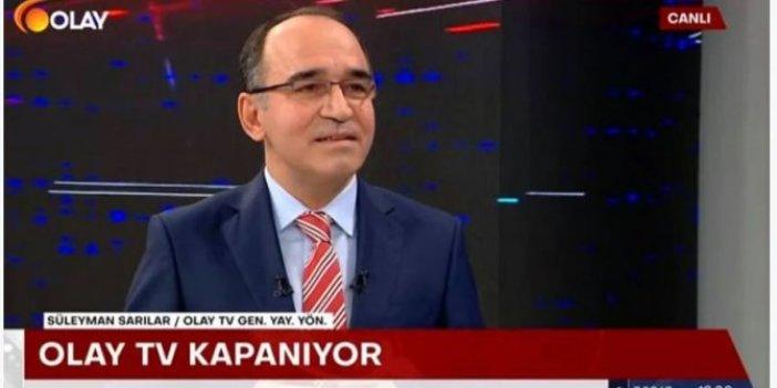 Olay TV'nin kapanma nedeni yeni ortaya çıktı! Yayın yönetmeni Süleyman Sarılar açıkladı