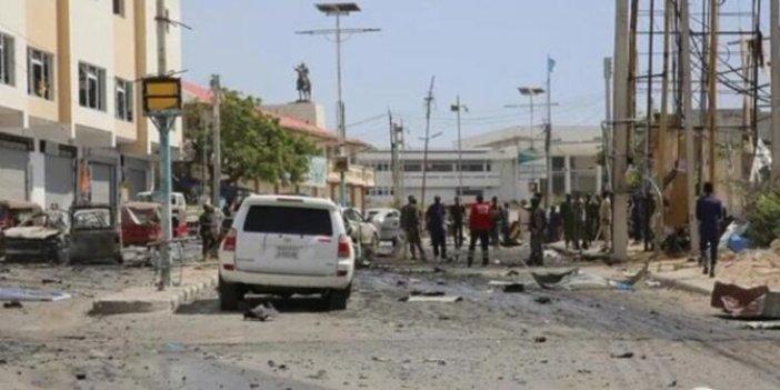 Somali'de Türk firmasına intihar saldırısı. Ortalık savaş alanına döndü. 2'si Türk 5 ölü