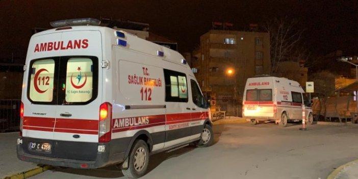 Gaziantep'te bebeğinin yanında vurulmuş halde bulundu