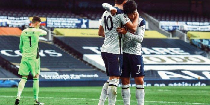 Tottenham rakibini rahat geçti