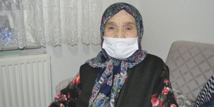 92 yaşındaki Sultan Bilgin korona virüsü alt etti