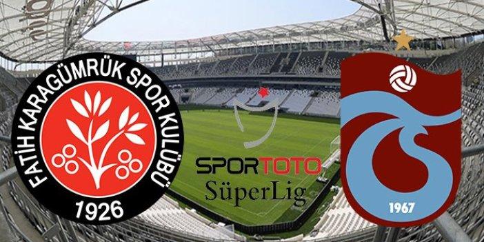Trabzonspor, İstanbul'da esti