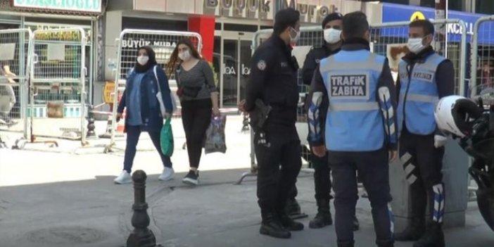 Korona tedbirlerini ihlal eden 457 kişiye ceza kesildi