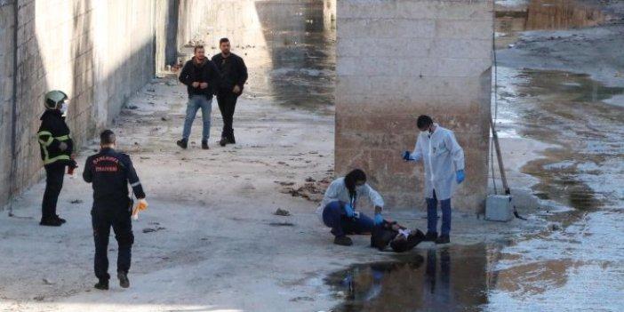 Şanlıurfa'da dün kaybolan gencin cesedi derede bulundu
