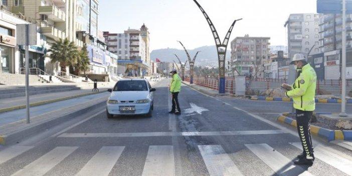 Mardin'de korona virüs yasaklarına uyuldu