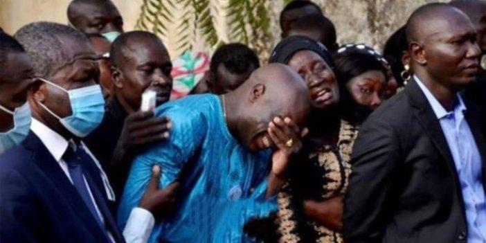 Aboubakar'ın kahrolduğu an. Gözyaşları sel oldu
