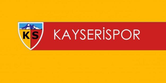 Hes kablo Kayserispor'da teknik direktör Samet Aybaba ile yollar ayrıldı