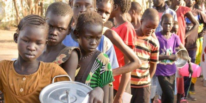 Güney Sudan'da alarm. 7 milyon kişi tehlikede
