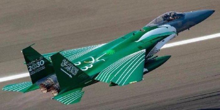 Suudilerden Türkiye'ye gözdağı Yunanistan'a destek. F-15'leri gönderiyor