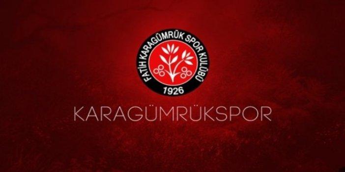 Karagümrük'ten Beşiktaş'a teşekkür