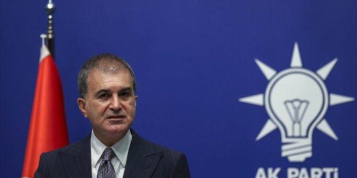 AKP Sözcüsü Ömer Çelik'ten kritik açıklamalar