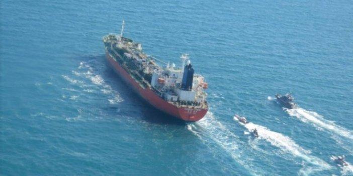 İranGüney Kore bandıralı petrol tankerine el koydu