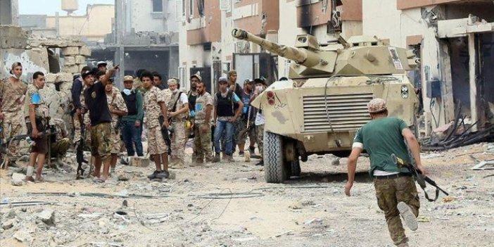 Libya'da ateşkes ihlali