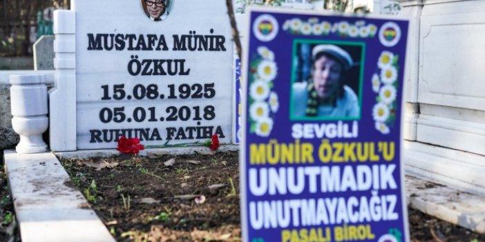 Münir Özkul vefatının 3. yıldönümünde mezarı başında anıldı