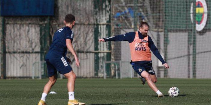 Fenerbahçe'de sevindiren gelişme