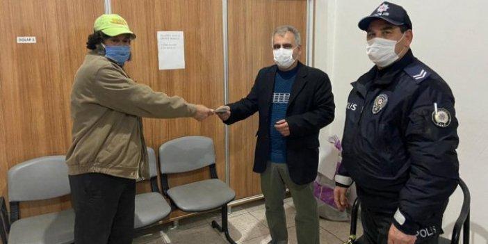 Sahibine parayı verdi aldığı ödül şok etti. Gaziantep'te ATM'den para çekerken para buldu