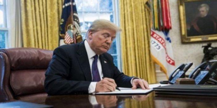 Trump'tan Çin'e yasaklama. Beyaz Saray açıklama yaptı