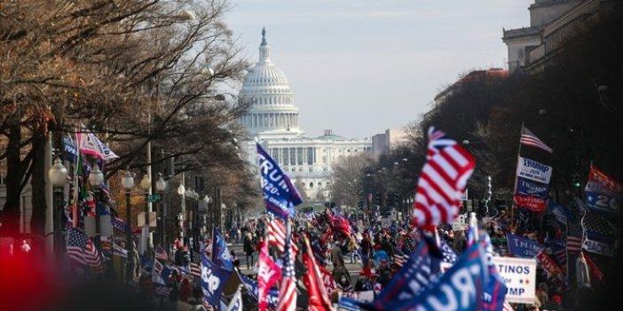 Washington'da Trump'a destek yürüyüşü