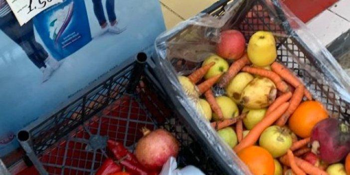 Vatandaşlar artık ucuz olduğu için çürük sebze meyve satın alıyor. Market ve manavlardaki acı tablo