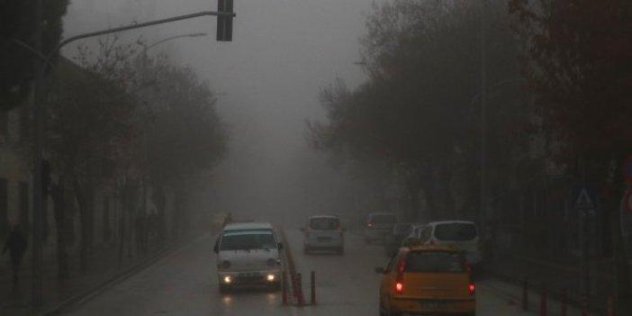 Burdur'da yoğun sis etkili oldu