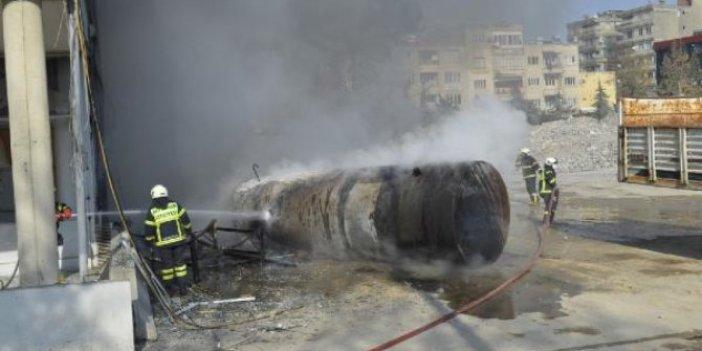 Adıyaman'da yakıt tankeri patladı