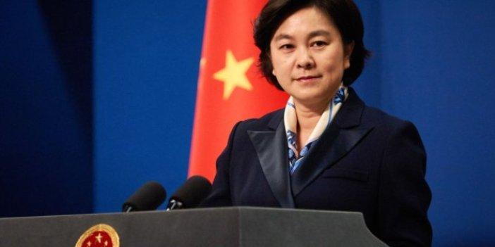 Çin'den ABD'ye Tayvan üzerinden gözdağı