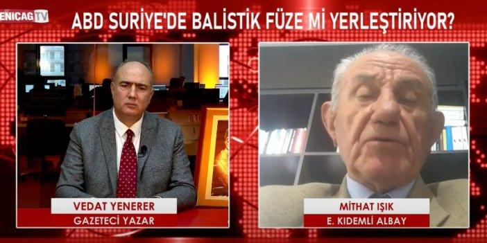 Flaş... Flaş... Eski Bordo Bereli Albay açıkladı. ABD Türkiye'ye karşı Suriye sınırına balistik füze yerleştirdi