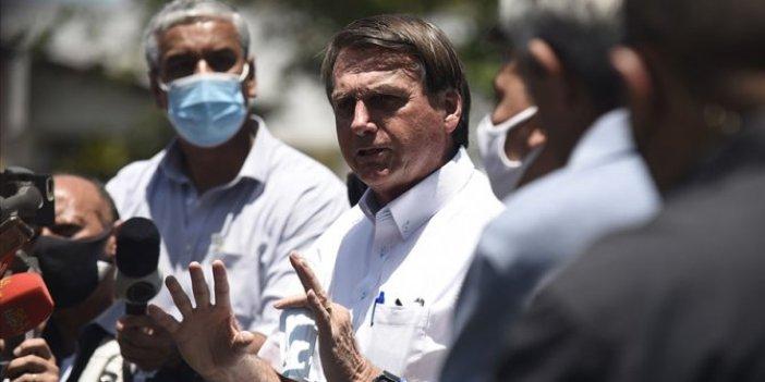 Brezilya Devlet Başkanı Bolsonaro koronaya karşı en iyi aşının virüsün kendisi olduğunu savundu