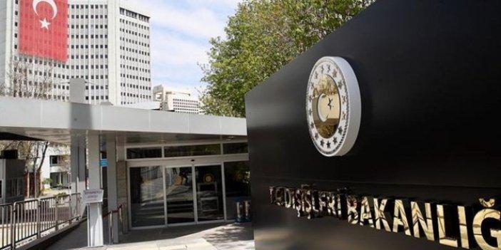 Türk Dışişleri Bakanlığı'ndan Amerika'da yaşanan olaylarla ilgili flaş açıklama